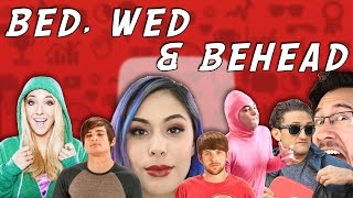 bed wed behead youtuber edition w nurse red and doctor barney