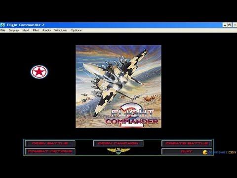 Flight Commander 2 gameplay (PC Game, 1995)