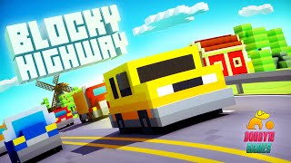Blocky Highway - Trailer (iOS / Android)