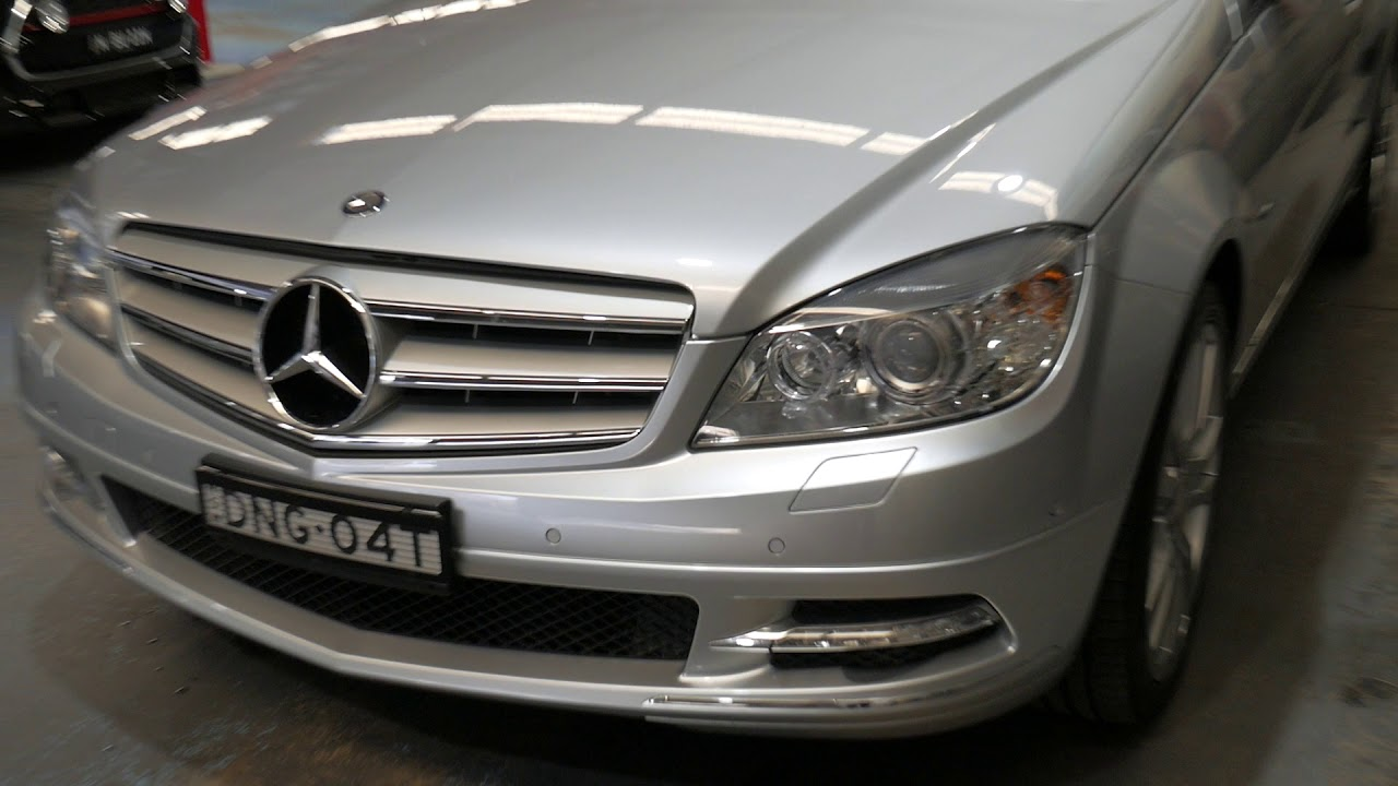 Mercedes-Benz C250 CGI W204 MY10