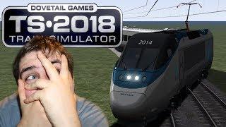 Train Simulator 2018 - Train Drifting