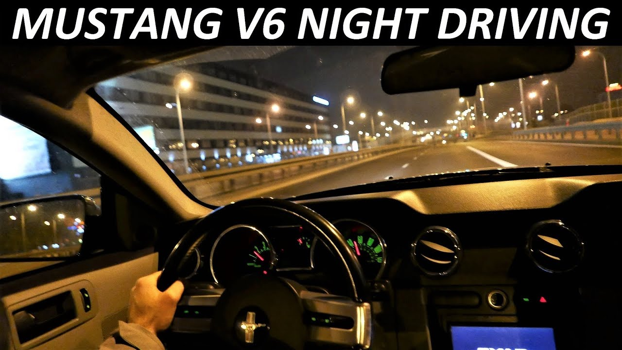 2005 FORD Mustang 4.0 V6 NIGHT DRIVING & Overdrive [Jazda Próbna] TEST PL
