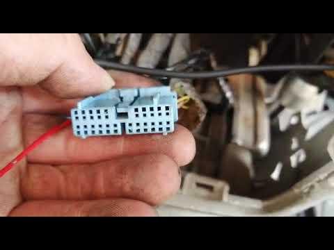 Honda Elysion подключение магнитолы Андроид Honda Elysion