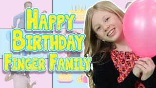 The Finger Family Song | Happy Birthday | Nursery Rhymes | Old MacDonald Finger Family TV