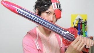【テンションが変】ガシャポン トッキュウジャー ビッグサイズなりきりウェポン