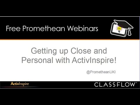 Getting Up Close and Personal with ActivInspire Software Customisation