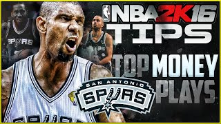 NBA 2K16 Offensive Tips: Top Money Plays for Easy Points - Cutter Plays