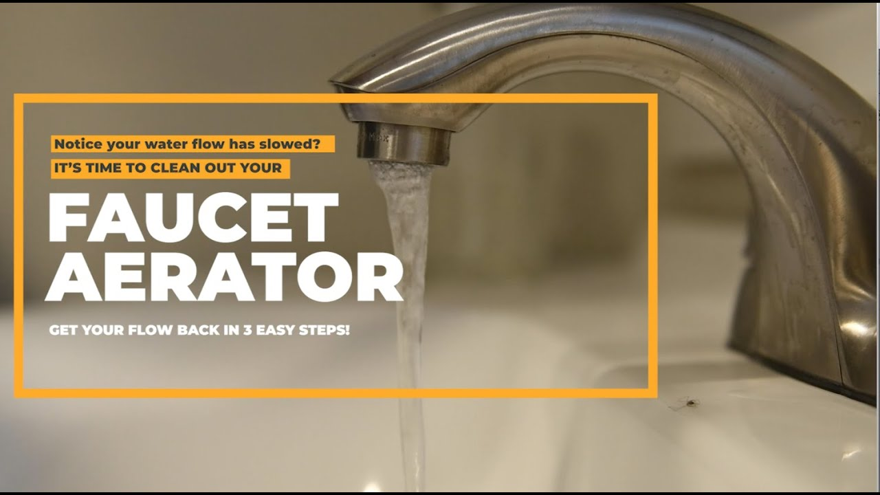 How To Clean Your Faucet Aerator Zn Construction