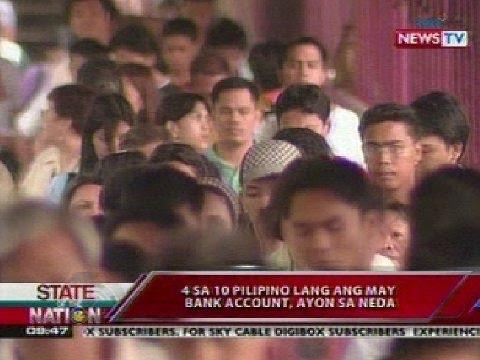 4 lang sa 10 Pinoy ang may bank account; PDIC, hinikayat ang lahat na mag-impok sa bangko