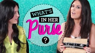 What's in Her Purse with Joslyn Davis from ClevverTV!