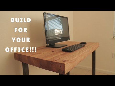 DIY COMPUTER DESK - HOW I DID IT