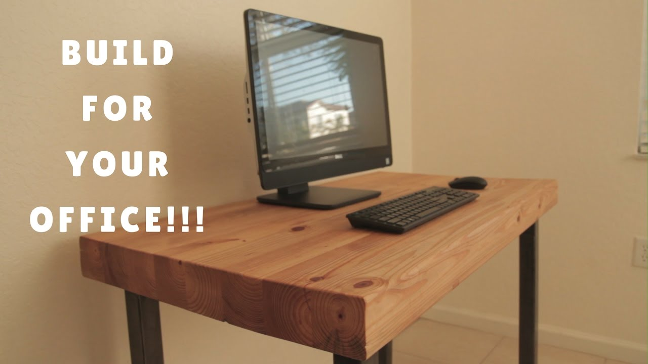 Diy Computer Desk How I Did It You Rh Com Wood Plans
