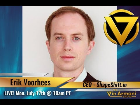 The Vin Armani  71717  Erik Voorhees, CEO of ShapeShift.io