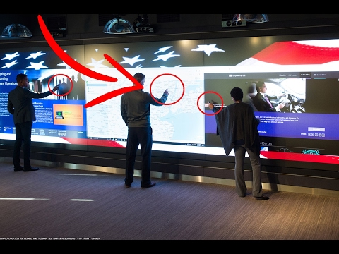 HUGE Interactive Multi-zone Touch LED Wall