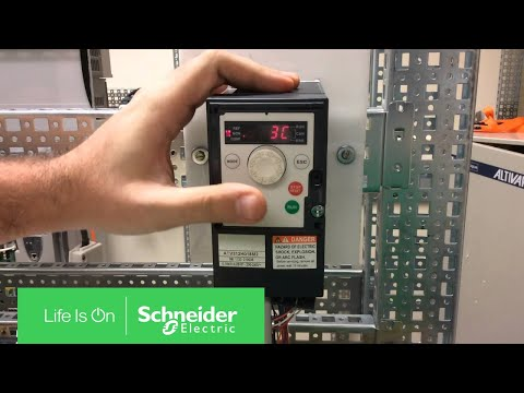 Configuring ATV312 for 3 Wire Control | Schneider Electric