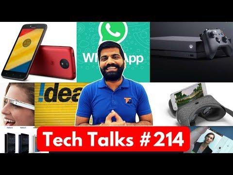 Tech Talks #214 - Nokia Tomorrow, Jio Extra Data, Xbox One X, PayTM Sale, Huawei 5G