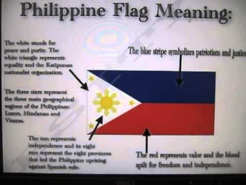 The Meanings And Symbolisms Behind The Philippine Flag Youtube