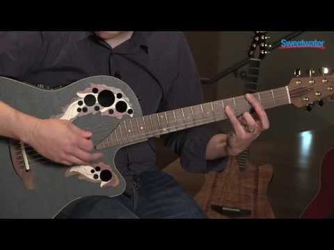 Ovation Adamas 2080ES Acoustic-electric Guitar Demo - Sweetwater Sound