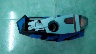 Kamen Rider Mach's Driver Papercraft