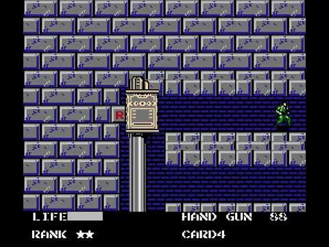 NES Longplay [255] Metal Gear