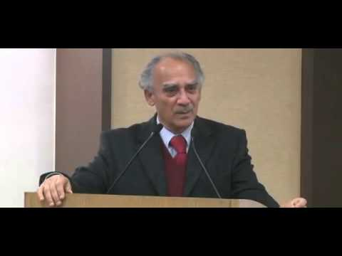 "Arun Shourie's amazing speech at the launch of book ""Indra's Net"""