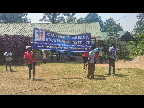 Connect Africa Foundation: Parade for the Vocational Training Institute
