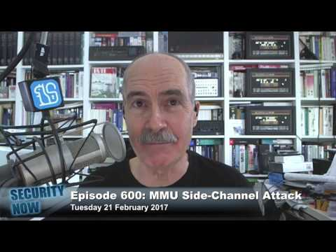 Security Now 600: The MMU Side-Channel Attack