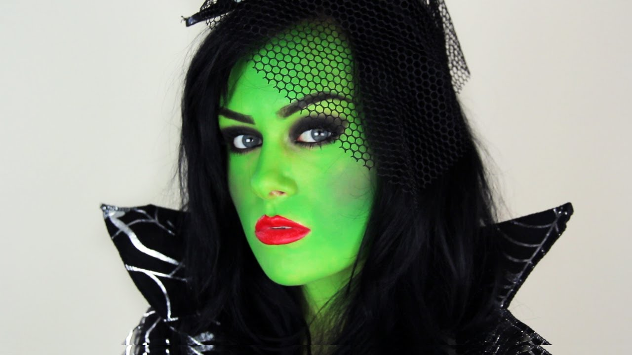 Easy Witch Make Up For Halloween Youtube