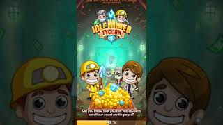 Idle Miner Max level New Year event