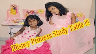 Disney Princess Portable Study Table for Kids | Study Desk for Girls