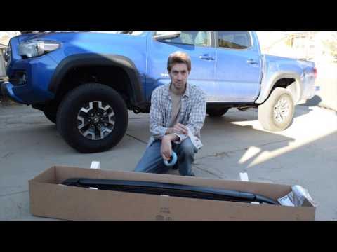 2017 Tacoma Roof Rack Install