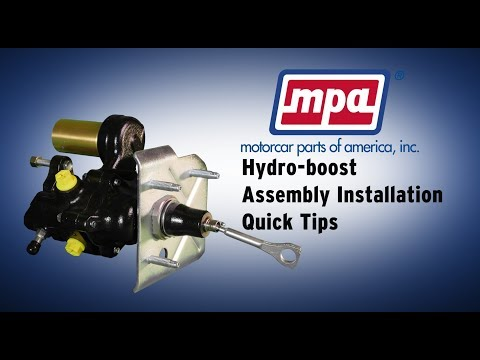 Hydro-boost Assembly Installation Quick Tips
