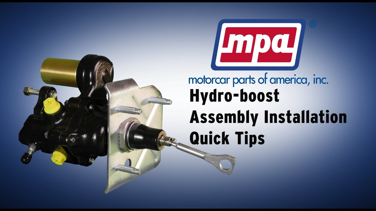 Hydro Boost Assembly Installation Quick Tips Youtube F700 Hydraulic Brake System Diagram On 89 Dodge Van Wiring