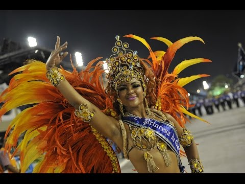 Rio Carnival Court in Action: Evelyn Bastos & Carnaval Court: Reina del Rio