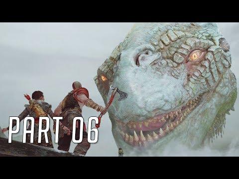 God of War (Hard) 100% Walkthrough 06 (World Serpent)