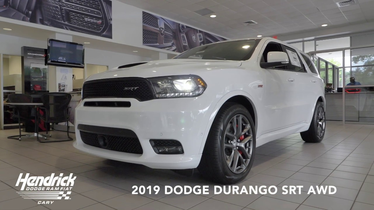 Hendrick Dodge Cary >> 2019 Hendrick Dodge Durango Srt Cary Nc Youtube