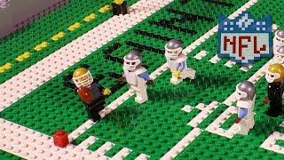 NFL Road to Super Bowl LII: Carolina Panthers vs. New Orleans Saints | Lego Game Highlights