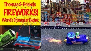 Fireworks World's Strongest Engine - Thomas & Friends Kids Toys