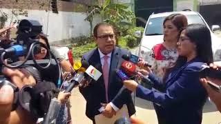 Alberto Otárola: Se quiere hacer escarnio y persecución política contra Ollanta Humala