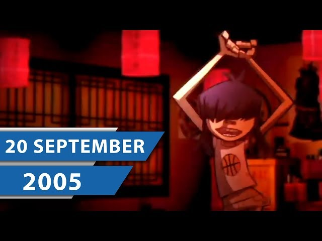 MUSIK CHARTS SEPTEMBER 2005 – James Blunt, Seeed und Gorillaz