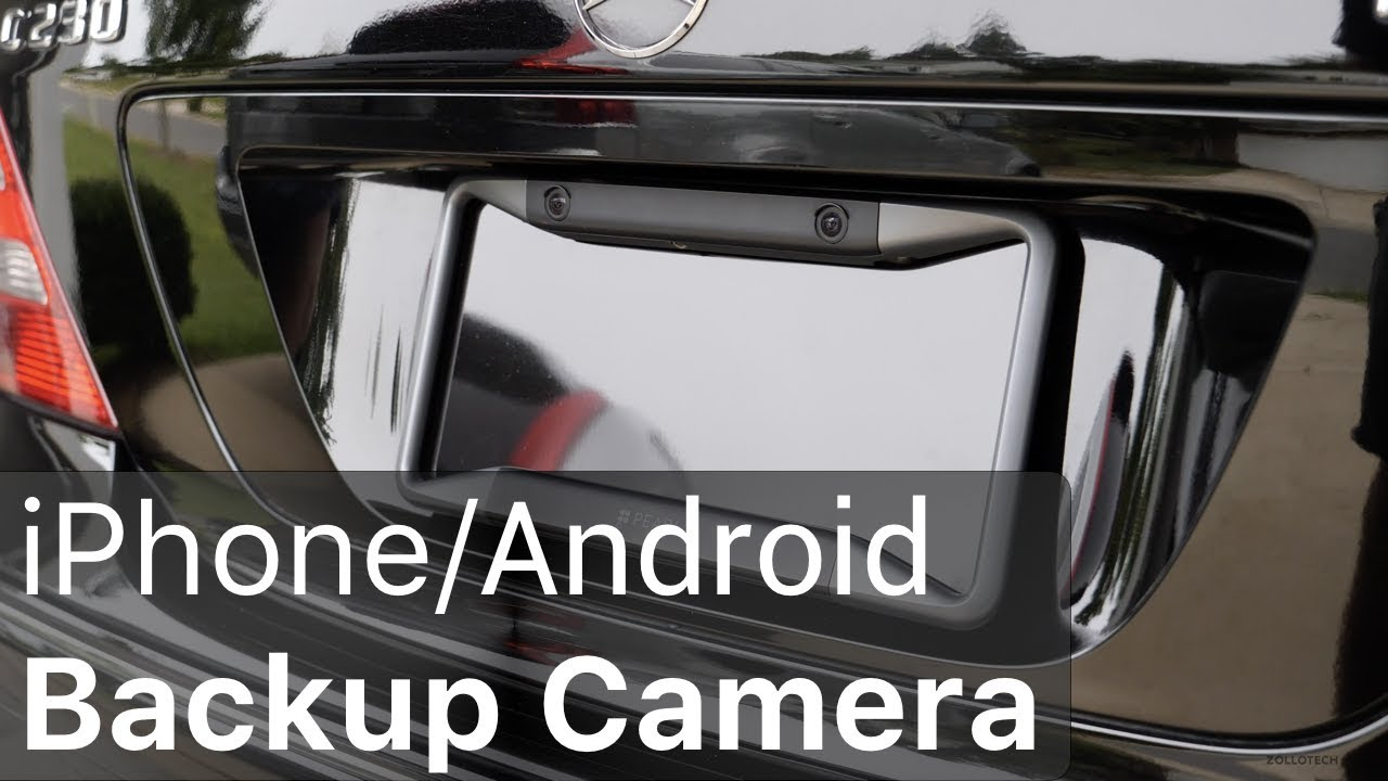 Use Your iPhone as a Car Backup Camera