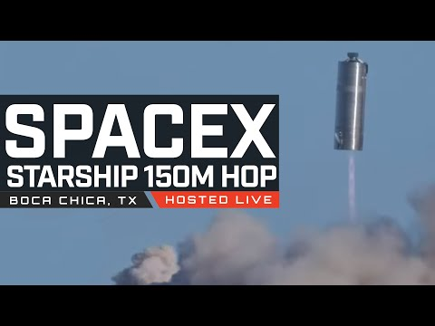 SN5 150m Hop SUCCESS – Video
