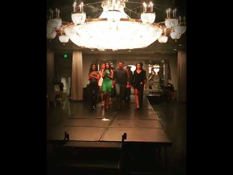 Final Rehearsals of MEHDI Fashion show in Baltimore Maryland Mehdi Couture