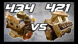 BEST Bracket Racing Motor for 2019?? | 434 vs 421 SBC