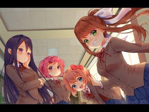 Just Monika (Random Encounters): DDLC Edition [[WARNING: SPOILER ALERT]]