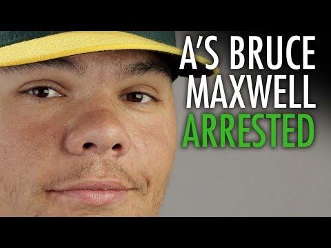 Bruce Maxwell, MLB's only anthem kneeler, arrested