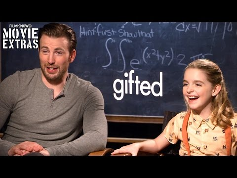 Gifted (2017) Chris Evans & Mckenna Grace talk about their experience making the movie
