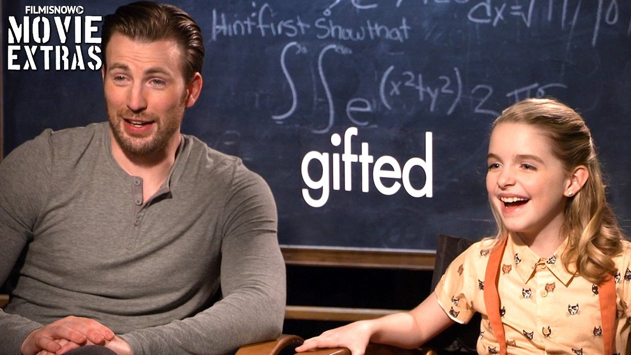 Gifted (2017) Chris Evans & Mckenna Grace talk about their ...