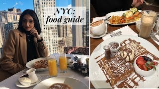 NYC FOOD GUIDE | Our favorite places to eat in New York City