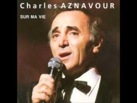 CHARLES AZNAVOUR   L'istrione (Le cabotin) + Lyrics